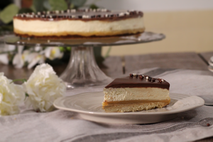 Millionaire shortbread cheesecake