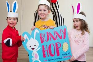 Bunny Up for the Down Syndrome Centre this Easter