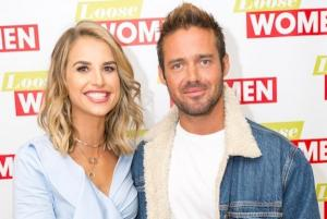 Vogue Williams accidentally reveals the gender of her baby on live TV