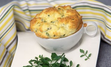 Potato and cabbage souffle
