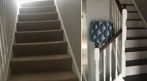 My stairs revamp: I was not alone in wanting to rip the carpet up