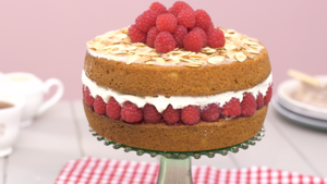 Bakewell layer cake