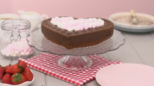 Chocolate magic cake