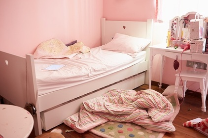 Living in filth: Mum admits she wants to move daughter out of gross bedroom