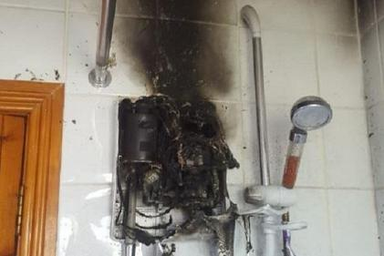 Dublin Fire Brigade warns of the dangers of leaving electric shower switched on