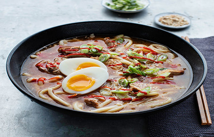 Slow Cooked Pork Ramen