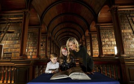 Art attack! Will your kids be entering the Book of Kells Creative Competition?