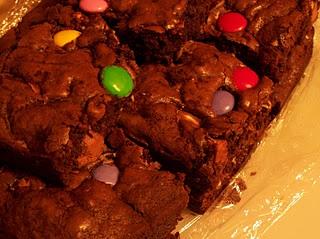 Chocolate Smartie Rainbows