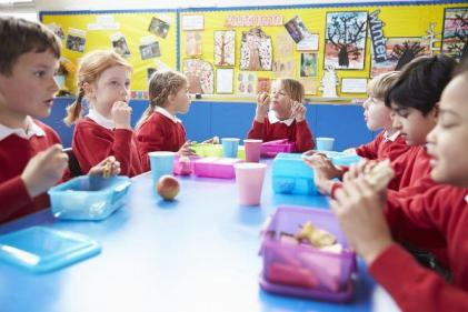 Are rushed lunch breaks in schools to blame for childhood obesity?