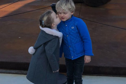 Princess Charlene shares the SWEETEST back-to-school snap of her twins