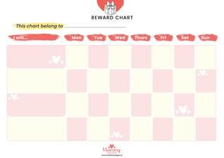 Girls Reward chart