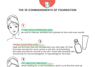 The 10 Commandments of Foundation