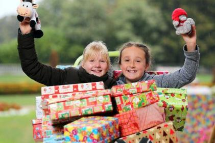 Christmas is coming: The 2018 Team Hope Shoebox Appeal has been launched