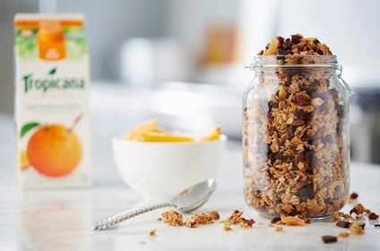 Orange, Pecan and Almond Granola