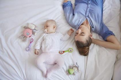 Why the 10 month sleep regression has us all in tears