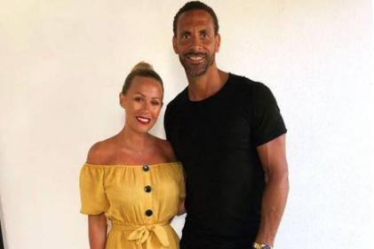 Congrats! Rio Ferdinand and Kate Wright announce their engagement
