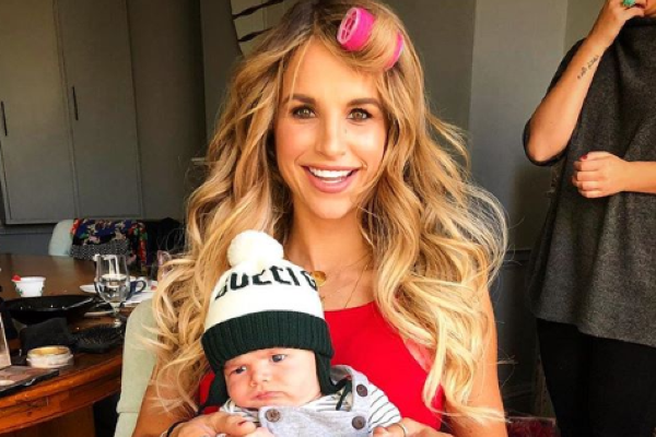 They grow so fast: Vogue Williams shares an adorable throwback picture of Theodore