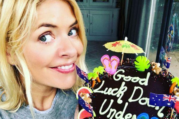 Holly Willoughbys send-off presents for Im a Celeb are so cute
