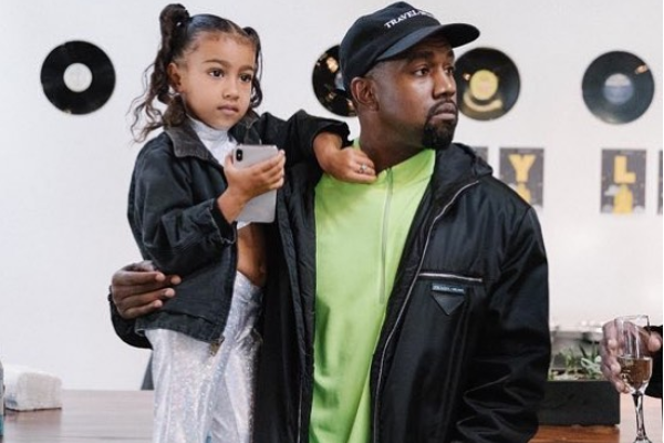 Kim Kardashian gives a glimpse into family life, but North isnt having it