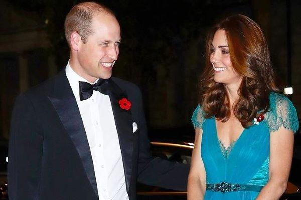 The look of love: The Duke and Duchess of Cambridge attend Tusk awards