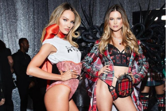 These mums looked stunning on the Victoria Secret runway
