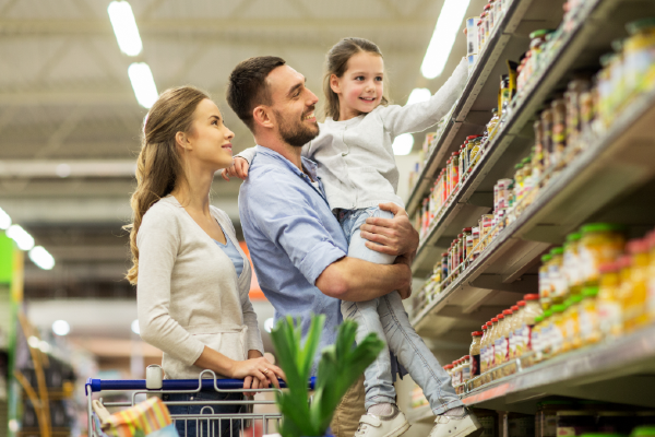 Here's why the kids will always remember doing 'the big shop' with the family