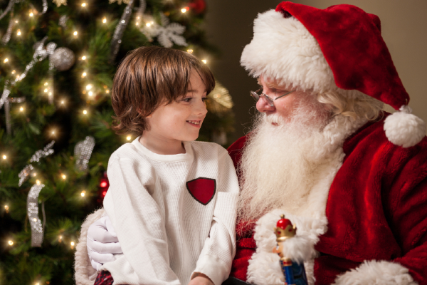This nature-themed Santa event is ideal for kids with sensory issues