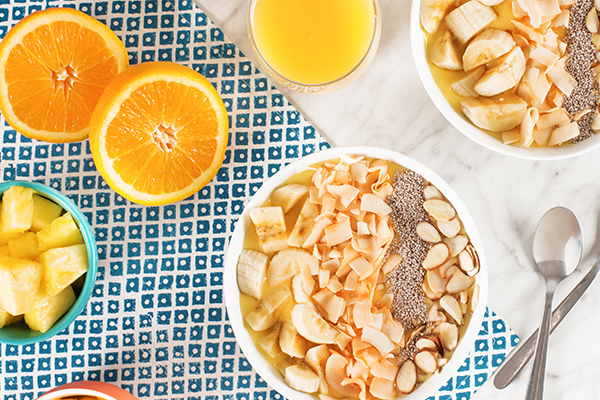 Tropical Citrus Smoothie Bowl