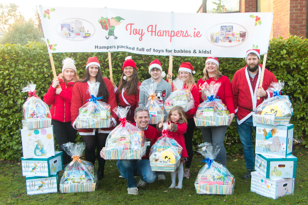 Toy Hampers spreads Christmas cheer with toys for those in need