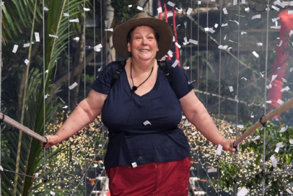Im A Celebs Anne Hegerty has lost a shocking amount of weight in the jungle