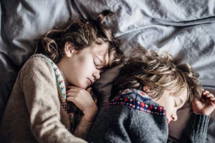 Children with regular bed-times could be healthier as teens, says study
