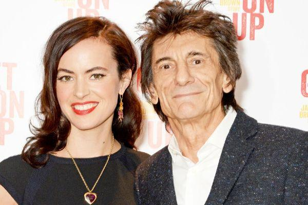 Excitement: Ronnie Wood and wife Sally reveal Christmas plans with their twins