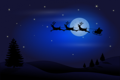 News just in: Santa expected to reach Ireland just before midnight