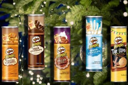 Left over Pringles tube? Its all you need for this clever Christmas hack