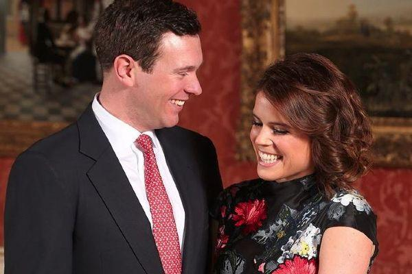 Princess Eugenie shares never-before-seen photo from the day Jack proposed