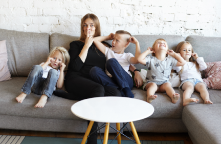 Mothers of three children are apparently MORE stressed than any other number