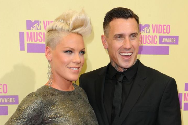 Two misfits: Carey Hart pays tribute to Pink on their wedding anniversary