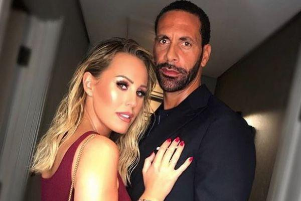 My girls: Rio Ferdinand shares stunning family photo from dream holiday