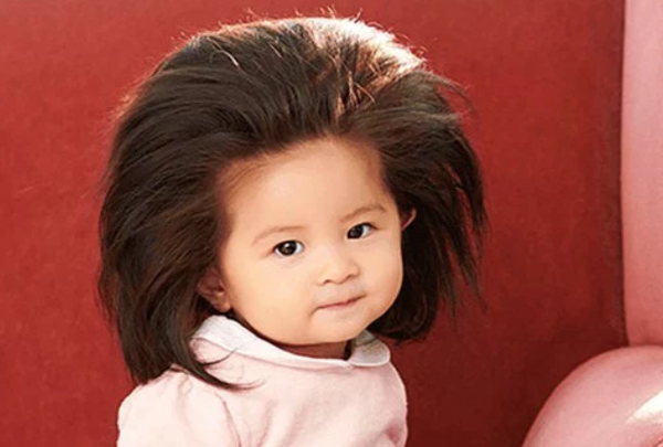 A modern Hairy-tale: Pantene have hired a BABY to be its newest face