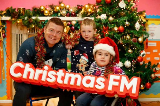 Christmas FM raises an AMAZING amount of money for Temple Street hospital