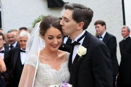 Congrats! Simon Harris and wife Caoimhe welcome their first child