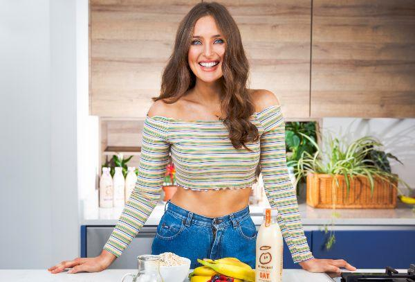 innocent launches delcious new Dairy Free range with Roz Purcell