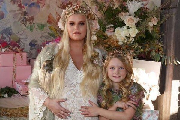 Jessica Simpson reveals baby gender and name in the CUTEST way
