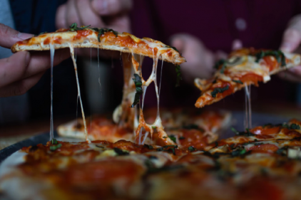 Deliciously light: Dominos are releasing a new low-calorie range of pizzas
