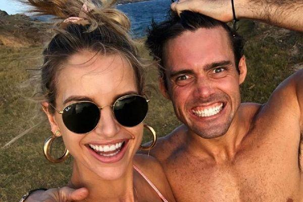 The first time: Spencer Matthews pens tribute to wife Vogue and son Theodore
