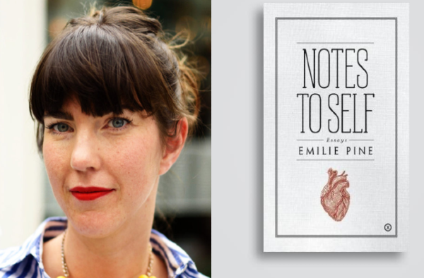 The beautiful Notes to Self by Emilie Pine WINS An Posts Irish Book of the Year 2018