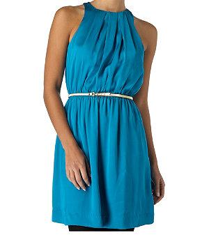Slinky Belted Dress