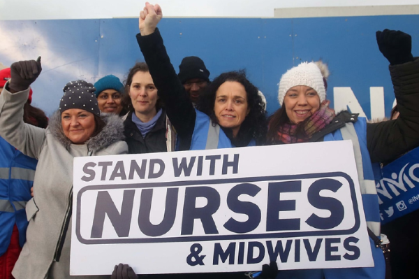 A rally to support nurses to take place this Saturday at the Garden of Remembrance
