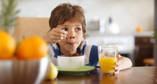 Should your child feel hungry?