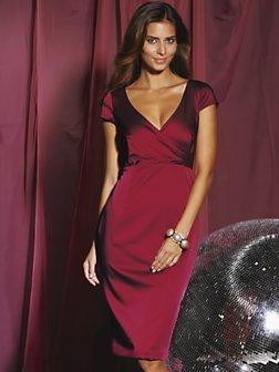 Teatro Confident Curves Satin Dress